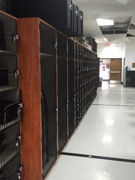 Instrument Storage Lockers